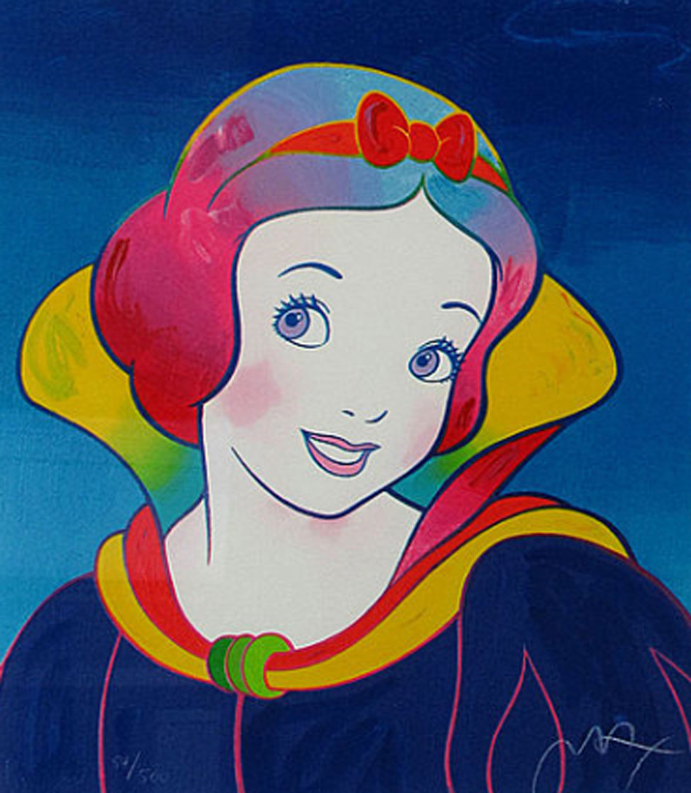 Disney: Snow White 1994 Limited Edition Print by Peter Max
