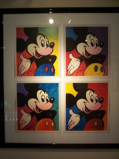Walt Disney- Mickey Suite 1 (4) 1994 Limited Edition Print - Peter Max