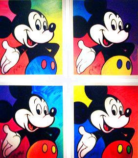 Walt Disney- Mickey Suite #1, 4 Prints  1994 Limited Edition Print - Peter Max