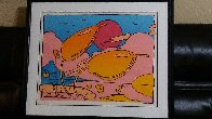 Tropical Flowers 1979 Limited Edition Print by Peter Max - 1