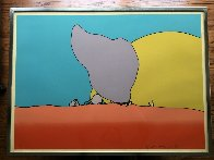 Rocks and Sun 1971 Limited Edition Print by Peter Max - 1