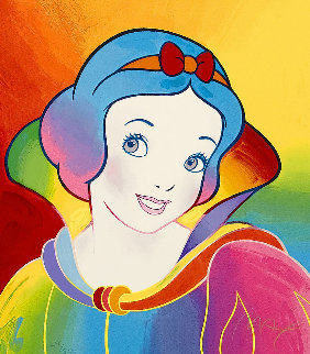 Snow White AP 1994 Limited Edition Print - Peter Max