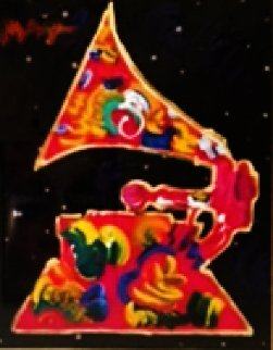Grammy 91 Ver.1#5 Unique 1991  28x32 Works on Paper (not prints) - Peter Max