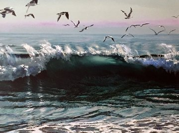 Norians Wave  1985 Embellished  Limited Edition Print - Ruth Mayer