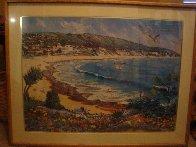 Paradise 1981  (Laguna Beach) Huge Limited Edition Print by Ruth Mayer - 2