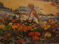 Paradise 1981  (Laguna Beach) Huge Limited Edition Print by Ruth Mayer - 4