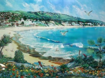 Paradise 1981  (Laguna Beach) Huge Limited Edition Print - Ruth Mayer