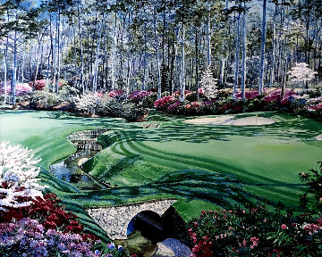 Augusta in Spring 1992 Limited Edition Print - Ruth Mayer
