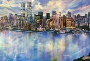 I Love New York 2000 62x26 Super Huge Limited Edition Print - Ruth Mayer
