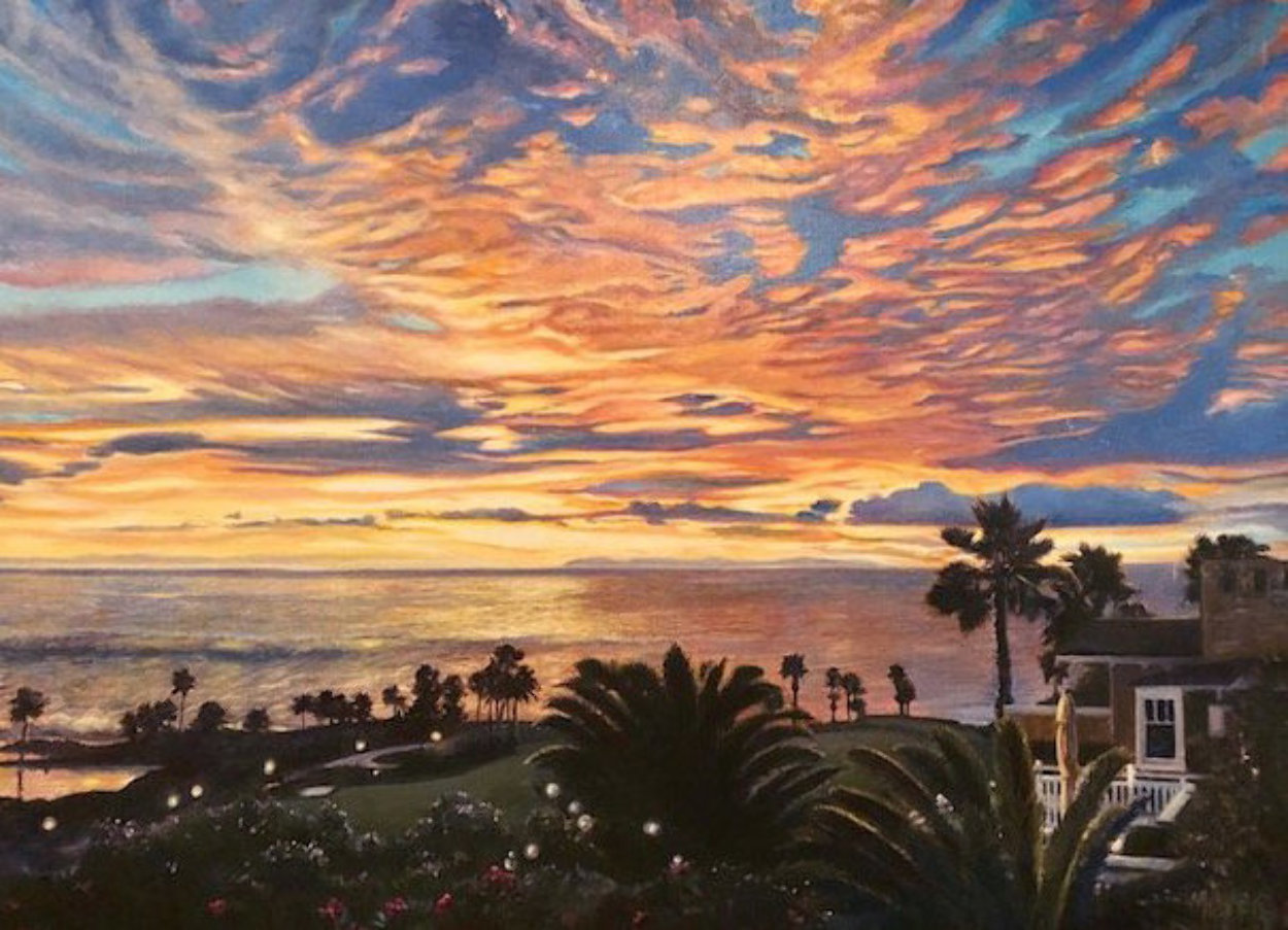 A Touch of Heaven - Montage 2009 Limited Edition Print by Ruth Mayer