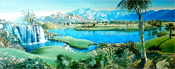 In Spirit 2005 (Rancho La Quinta Country Club) 18x45 Limited Edition Print - Ruth Mayer