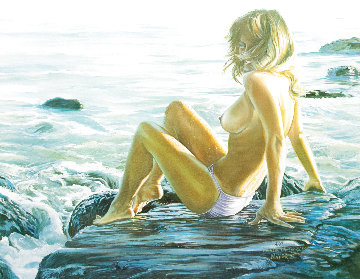 Laguna  on the Rocks AP Limited Edition Print - Ruth Mayer