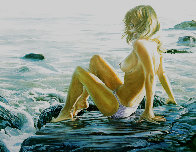 Laguna  on the Rocks AP 1982 Limited Edition Print by Ruth Mayer - 0