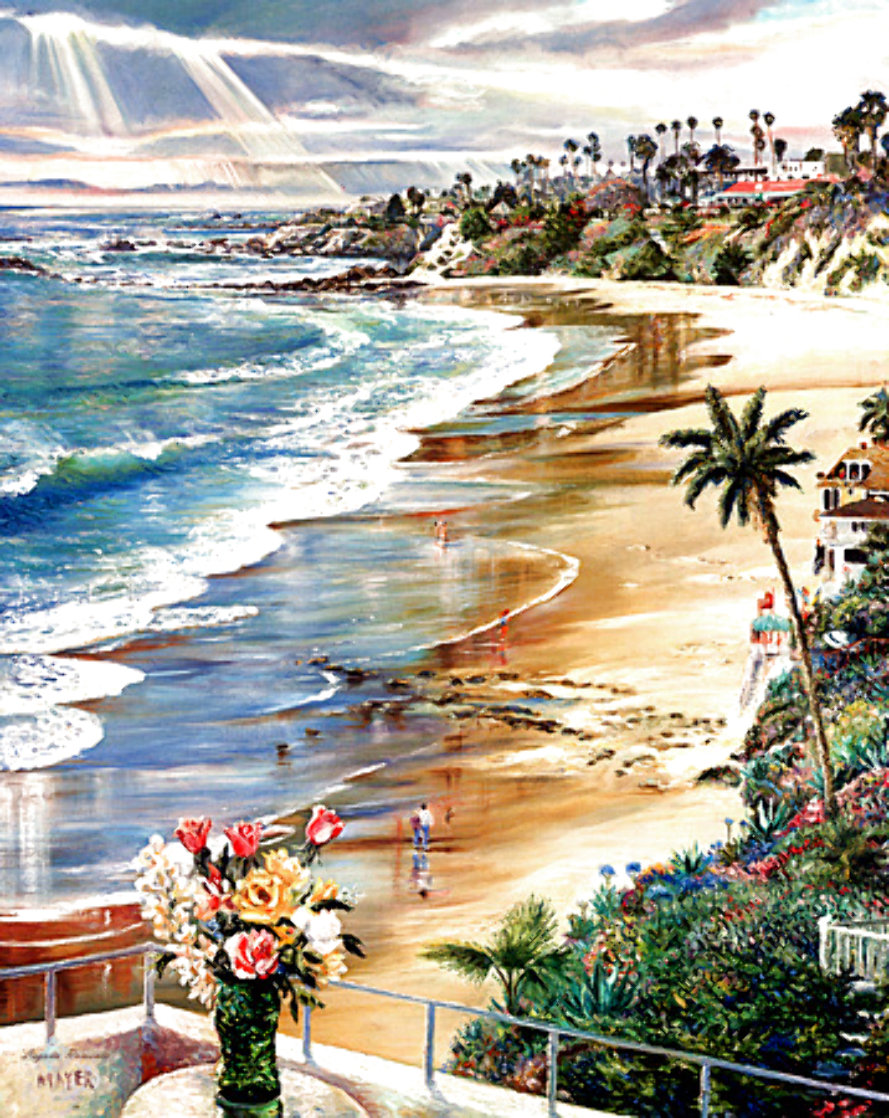 Laguna Romance 1981 Limited Edition Print by Ruth Mayer