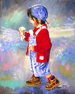 Ice Cream Boy AP Limited Edition Print - Ruth Mayer