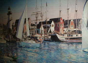 Marina del Rey, California 1985 Limited Edition Print - Ruth Mayer