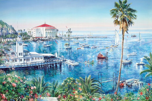 Catalina Adventure 1988 Limited Edition Print by Ruth Mayer