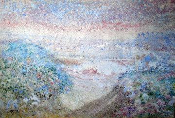 Laguna Beach Magic, California 1967 37x52 Super Huge  Original Painting - Ruth Mayer
