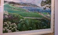 Legends of Golf Pebble Beach, California Limited Edition Print by Ruth Mayer - 1