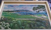 Legends of Golf Pebble Beach, California Limited Edition Print by Ruth Mayer - 7