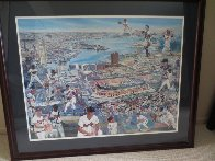 Camden Yards, Baltimore, Md 1998 Limited Edition Print by Ruth Mayer - 2