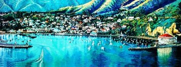 Catalina 1986 27x73 Limited Edition Print by Ruth Mayer