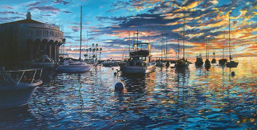 Catalina Heaven 1988 Limited Edition Print by Ruth Mayer