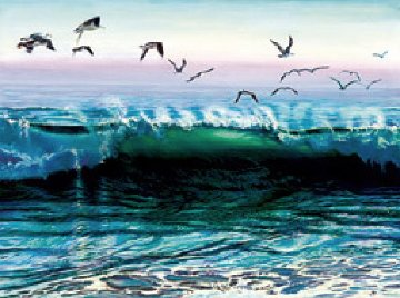 Norian's Wave AP 1985 Limited Edition Print - Ruth Mayer