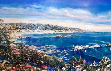 City of Laguna 1993 Califoria Limited Edition Print by Ruth Mayer