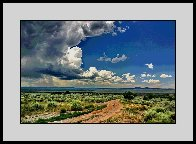 On the Way to Taos AP 2014 Aluminum Limited Edition Print by Les Mayers - 1