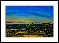 Ballooning Over Napa Valley AP 2014 Aluminum Limited Edition Print by Les Mayers - 1