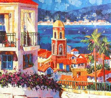 St. Tropez 1996 Limited Edition Print by Barbara McCann