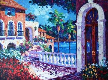 French Riviera, France 1997 Limited Edition Print - Barbara McCann