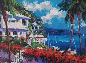 Paradise Bay1997 Embellished Limited Edition Print by Barbara McCann