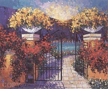 Villa Rosa 1997 Limited Edition Print - Barbara McCann