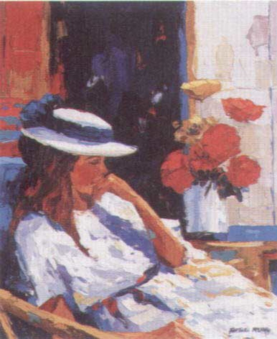 Contemplations from the Flora Suite AP 1996 Limited Edition Print by Barbara McCann