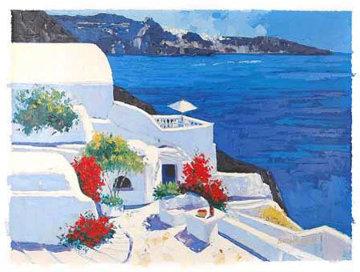 Greek Isles II 1999 Embellished Limited Edition Print by Barbara McCann