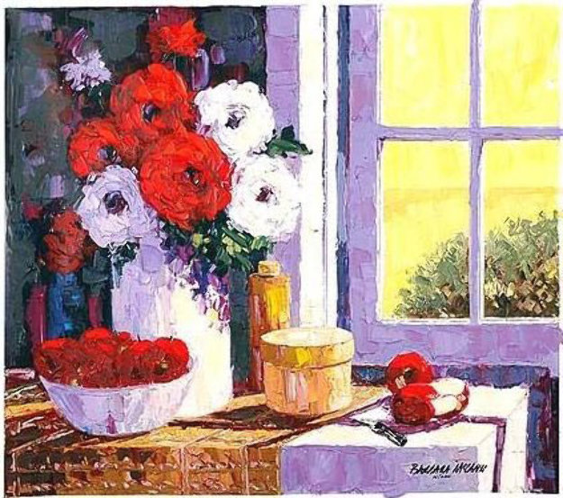 Morning Light Embellished 1999 Limited Edition Print by Barbara McCann
