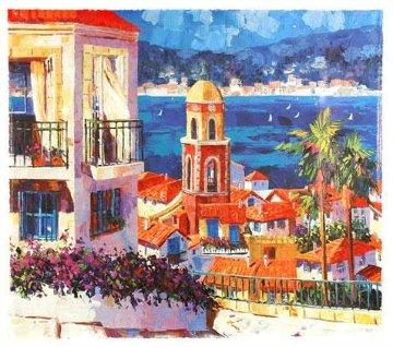 St. Tropez 1996 Embellished Limited Edition Print - Barbara McCann