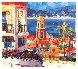 St. Tropez 1996 Embellished Limited Edition Print by Barbara McCann - 0