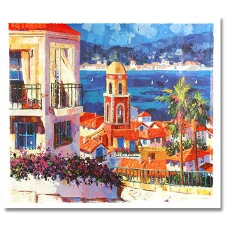 Capri Sunset and St. Tropez Set of 2 1996 Limited Edition Print - Barbara McCann