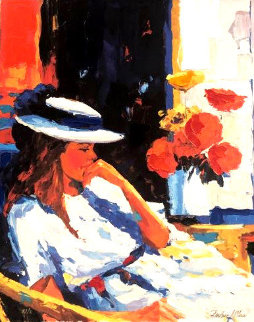 Flora Suite: Contemplation 1996 Limited Edition Print - Barbara McCann