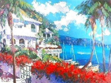 Paradise Bay 1996 AP Huge - 50x40 Limited Edition Print - Barbara McCann