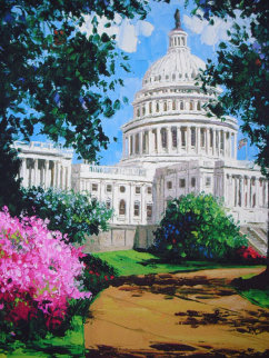 Capitol Washington D.C.2001 Limited Edition Print by Barbara McCann