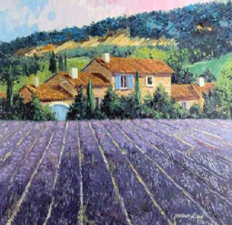 Lavender Fields Ap 2000 Limited Edition Print - Barbara McCann