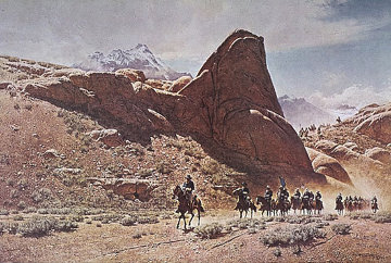 Long Column 1974 Limited Edition Print - Frank McCarthy