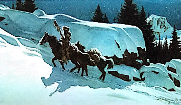 Moonlit Trail 1978 Limited Edition Print - Frank McCarthy