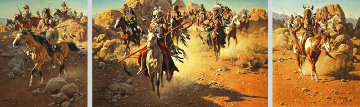 On the Old North Trail 1990 Limited Edition Print - Frank McCarthy
