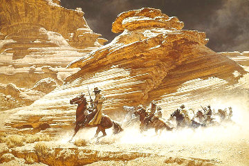 Dust Stained Posse 1975 Limited Edition Print - Frank McCarthy