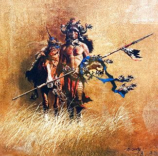 Warrior 1976 Limited Edition Print - Frank McCarthy